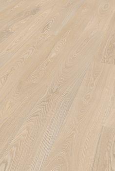 SAGA Exclusive White Ash | SAGA Parkett? Unique Photo, Hardwood Floors, Flooring Ideas, Saga, House, Wood Floor Tiles, Home, Haus, Wood Flooring