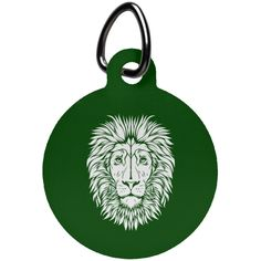 King of Beasts Circle Pet Tag