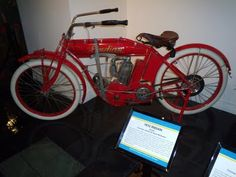 this is a 1902 indian..the start to the motorcycle world before harley come into the picture..