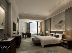 Interior - Hotel Hotel Interiors, Bed, Furniture, Home Decor, Decoration Home, Stream Bed, Room Decor, Home Furnishings, Beds