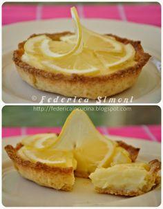 La cucina di Federica: Crostatine con crema al limone