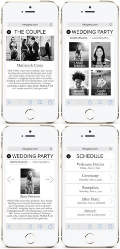 We take a look at some of our favourite Riley & Grey wedding websites and chat about why they not only look and feel gorgeous but are incredible useful for planning your wedding. Wedding Website, Wedding Blog, Diy Wedding, Wedding Events, Wedding Crafts, Wedding Ideas, Asking Bridesmaids, Bridesmaids And Groomsmen, Eclectic Wedding