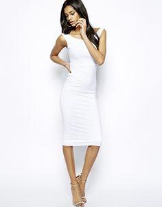 ASOS Bardot Bodycon Midi Dress