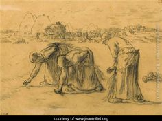 The Gleaners (1857) - Jean-Francois Millet