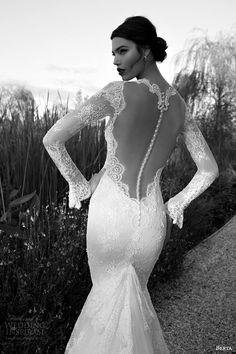 BERTA 2015 #Bridal Collection — Long Sleeve #Wedding Dresses | #weddings #weddingdress #pretty #lace #weddinggown #illusionback   http://www.weddinginspirasi.com/2014/12/12/berta-2015-bridal-collection-long-sleeve-wedding-dresses/