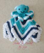 Crochet Baby Lovey Pattern – The Crafty Mama Bear Crochet Baby Toys, Crochet Amigurumi, Crochet Mittens, Crochet For Boys, Cute Crochet, Crochet Dolls, Crochet Lovey Free Pattern, Crochet Blanket Patterns, Baby Blanket Crochet