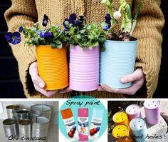 Garten: Blumentopf gestalten