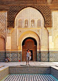 Medersa Ben-Youssef, Marrakech, Morocco