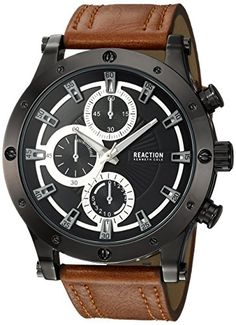 Wow. That's all I can say. Amazing looking watch for that price. Kenneth Cole REACTION Men's Watch. #affiliate