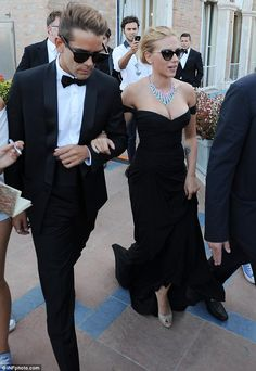 Bride-to-be: Scarlett Johansson is engaged to Romain Dauriac after nine months of dating, according to reports