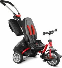 Tricycles - PUKY 2 in 1 very cool goes from push/stroller mode to an actual pedal tricycle Toys R Us, Tricycle, Power Wheels, Balance Bike, Ride On Toys, Buggy, Toddler Fashion, Baby Items, Baby Car Seats