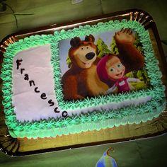 Torta Masha e Orso  #instafood #ilas #ilasSweetness #mashaeorso #compleanno http://ilas.webnode.it/ https://www.facebook.com/ilascake