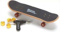 Tech Deck... My brothers had a million of these laying around the house