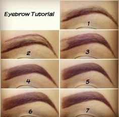 If you have good eyebrows, your life is kinda complete. :)