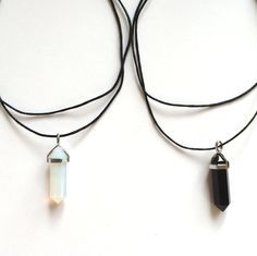 crystal chokers