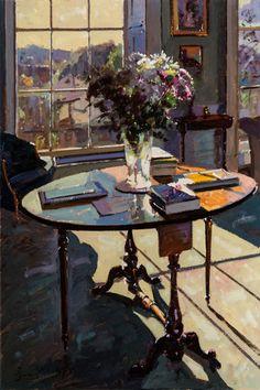 Bruce Yardley: Flowers in Sunlight