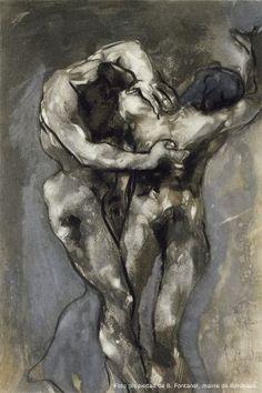Una de las obras del 'Album Fenaille' de Rodin