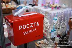Super atrakcja weselna - POCZTA WESELNA - Targi Rzeszów - www.dekoracje4u.pl Wedding, Mariage, Weddings