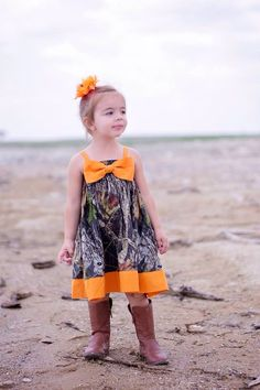 Girls Big Bow Mossy Oak Camo Dress by BellaPhiaBoutique on Etsy https://www.etsy.com/listing/228734227/girls-big-bow-mossy-oak-camo-dress