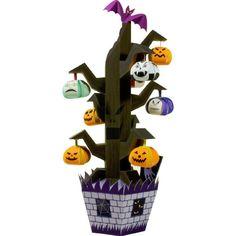 Halloween Tree,Toys,Paper Craft,Halloween,party,Pumpkin ,decoration,tree