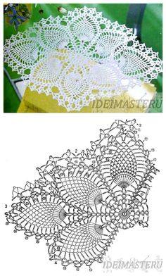 Brilliant Picture of Crochet Doilies Free Patterns Crochet Tablecloth Pattern, Free Crochet Doily Patterns, Crochet Doily Diagram, Crochet Symbols, Crochet Art, Thread Crochet, Crochet Gifts, Crochet Motif, Tatting Patterns