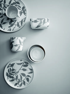 Kubek termiczny z kolekcji Grey Leaves marki Menu dostępny w Fabryka Form