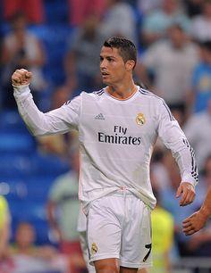 cbd4cb9e8e7 Cristiano Ronaldo Photos Photos - Cristiano Ronaldo of Real Madrid  celebrates after scoring during the La
