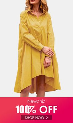 I found this amazing Casual Solid Color A-Line Pockets Loose Pleated Dress with US$25.99,and 14 days return or refund guarantee protect to us. --Newchic #Womensdresses #womendresses #womenapparel #womensclothing #womensclothes #fashion #onlineshop #onlineshopping #bigdiscount #shopnow #DiscountSale #discountprices #discountstore #discountclothing #fashionista #fashionable #fashionstyle #fashionpost #fashionlover #fashiondesign #fashionkids #fashiondaily #fashionstylist #fashiongirl