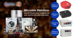 Microtek Stabilizer provide ultimate power protection for your sensitive electronic equipments. Visit to see our products.