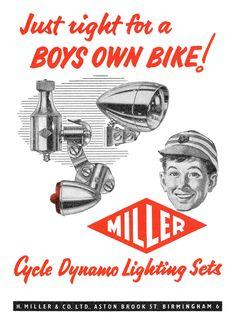 https://flic.kr/p/tqEZ8v | 1961 Miller Cycle Lights ad
