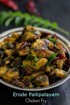 Erode Pallipalayam Chicken Fry Recipe. Chicken roasted in Tamilnadu Pallipalayam style masala. Prepare with easy step by step pictures.