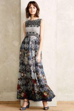 Hemant & Nandita Frost Cover Maxi Dress