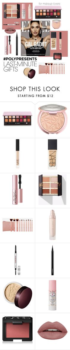 """#PolyPresents: Last-Minute Gifts - Makeup Edition"" by paris-geever ❤ liked on Polyvore featuring beauty, Anastasia Beverly Hills, NARS Cosmetics, Too Faced Cosmetics, BHCosmetics, Benefit, MAC Cosmetics and Laura Mercier"