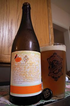 Pumpkin Is Easy - Spiced Belgian Style Ale by Lickinghole Creek Craft Brewery, Goochland, VA