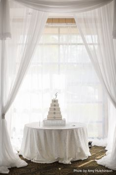 Beautiful Cake Canopy & Sweethearts table with a canopy | Weddings and Events | Pinterest ...