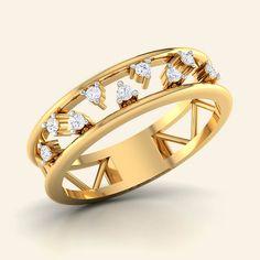Buy Diamond Georgian Colonial Ring Jewellery Online - Caratstyle.com