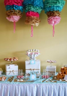 Mermaids and Pirates 3rd Birthday Party - Kara's Party Ideas - The Place for All Things Party