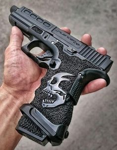 Understand the Glock trigger better and notice how much you progress using your Glock pistol! Understanding the Glock Trigger Glock Custom Glock, Custom Guns, Weapons Guns, Guns And Ammo, By Any Means Necessary, Military Guns, Cool Guns, Fantasy Weapons, Rifles
