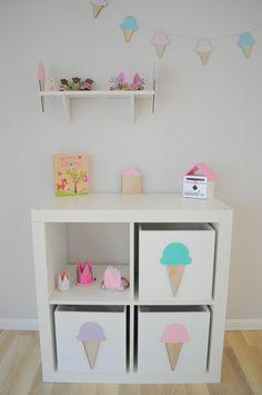 Ice cream toy box