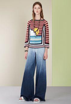 Red Valentino - Spring 2017 Ready-to-Wear Jean dégradé chic