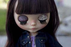 Lady Camellia  Original neo Blythe custom OOAK