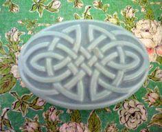 Cucumber Melon Celtic Soap  Scented Soap by LatherWorksBathBody, $5.00