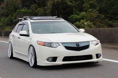 lowered+wagon | HF Kansai Sport Wagon - Acura TSX Club : Acura TSX Forum