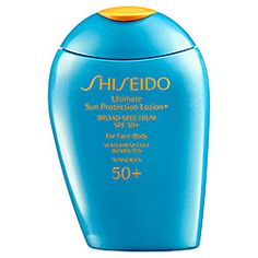 Shiseido - Ultimate Sun Protection Lotion+ Broad Spectrum SPF 50+ For Face/Body   #sephora