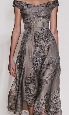 Really like the different textures and patterns as well as the ease of this dress