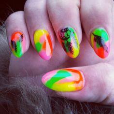 Carnaval nagels