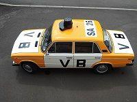 LADA 2106 Veřejná Bezpečnost - Czechoslovakia police car