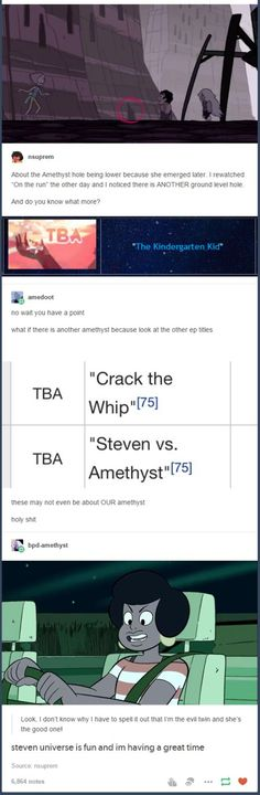 Why did we, the gravity falls fandom, teach them to theorize? Cause the SU fandom is terrible at theories, with a few exceptions.