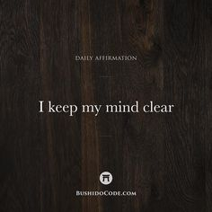 Inspired by @charansingh_chosen - I am mindful of my thoughts. If left unchecked thoughts may begin to accumulate weighing on my mind reducing my efficiency and raising my stress levels. - For this reason I refresh the mind daily through meditation. Clearing my mind gives me clarity and focus which allows my productivity to soar. - DOUBLE TAP IF YOU BELIEVE A CLEAR MIND IS A HEALTHY MIND! - With love Sunny aka Bushido Code - Tag a friend who will be inspired by the @Bushido.Code!  by…