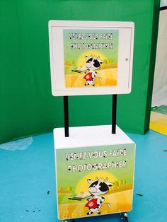 Photobooth réalisé dans le cadre du salon Caprinov (les 23 et 24 novembre 2016-Parc des expositions de Niort) > Stand AOP Beurre Charentes-Poitou